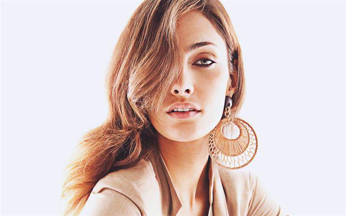 Download wallpapers 4k, Mariana Coldebella, 2018, Brazilian models, beauty, portrait, fashion models, makeup