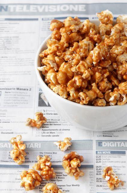 la formula del biscotto: esperimento 60: popcorn caramellati alla cannella