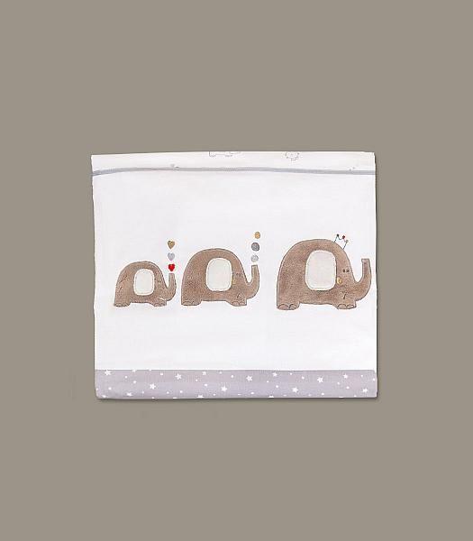 Sloní - 2-dílné povlečení do postýlky http://muzpony.cz/produkt,291,1941-slon%C3%AD_2_d%C3%ADln%C3%A9_povle%C4%8Den%C3%AD_do_post%C3%BDlky.html