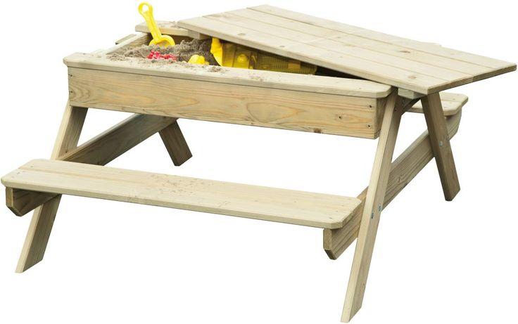 de picknickbank rosy park is een combinatietafel waarbij je de tafel kunt gebruiken als picknicktafel en ook als zandbak of opbergbak deze speeltafel van het merk bear county is speciaal gemaakt voor kinderen deze kindertafel biedt plek voor minimaal vier kinderen en is perfect om lekker een boterham aan te eten of om gezellig met andere kinderen aan te spelen onder het tafelblad vind je een handige opbergbak die bijvoorbeeld gebruikt kan worden als een zandbak de afmeting van de tafel is…