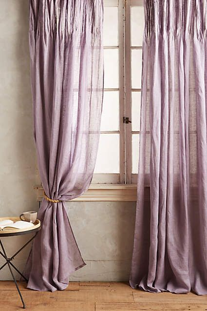 Pinch-Pleat Curtains - anthropologie.com