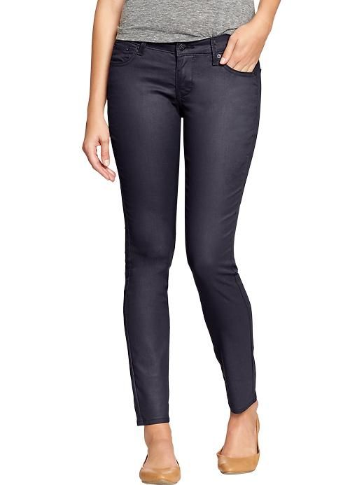 Old Navy | Women's The Rockstar Coated-Wash Super Skinny Jeans