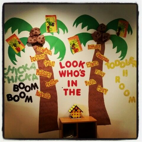 Chicka Chicka Boom Boom Look Who S In The Toddler 2 Room