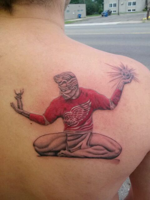 17 best images about detroit red wings tattoos on for Tattoos in detroit