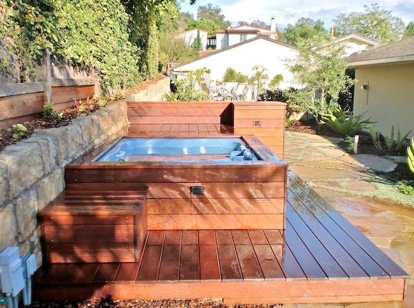One of our more modern looking decks.