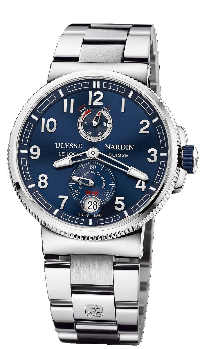 Ulysse Nardin - Marine Chronometer Manufacture   1183-126-7M_63