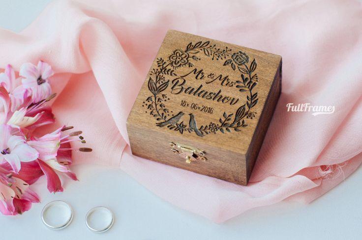 Шкатулки и коробки — Коробочка для колец Botanica