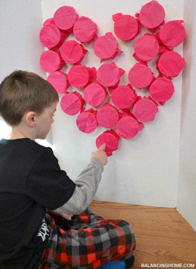 "Have a fundraising ""poke"" wall! 'Sell' each one. Fill cups with small prizes, possibly giftcards, event tickets, cover with crepe paper, and sell all cups for the chance to ""poke"" them and reveal the prize."