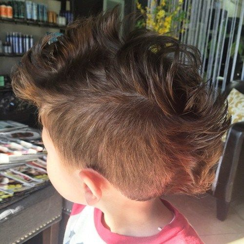 fauxhawk for little boys dinosaur hair