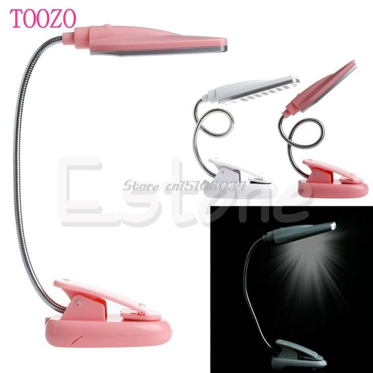New Flexible USB 28 LED Light Clip On Bed Table Desk Lamp Reading light #S018Y# High Quality