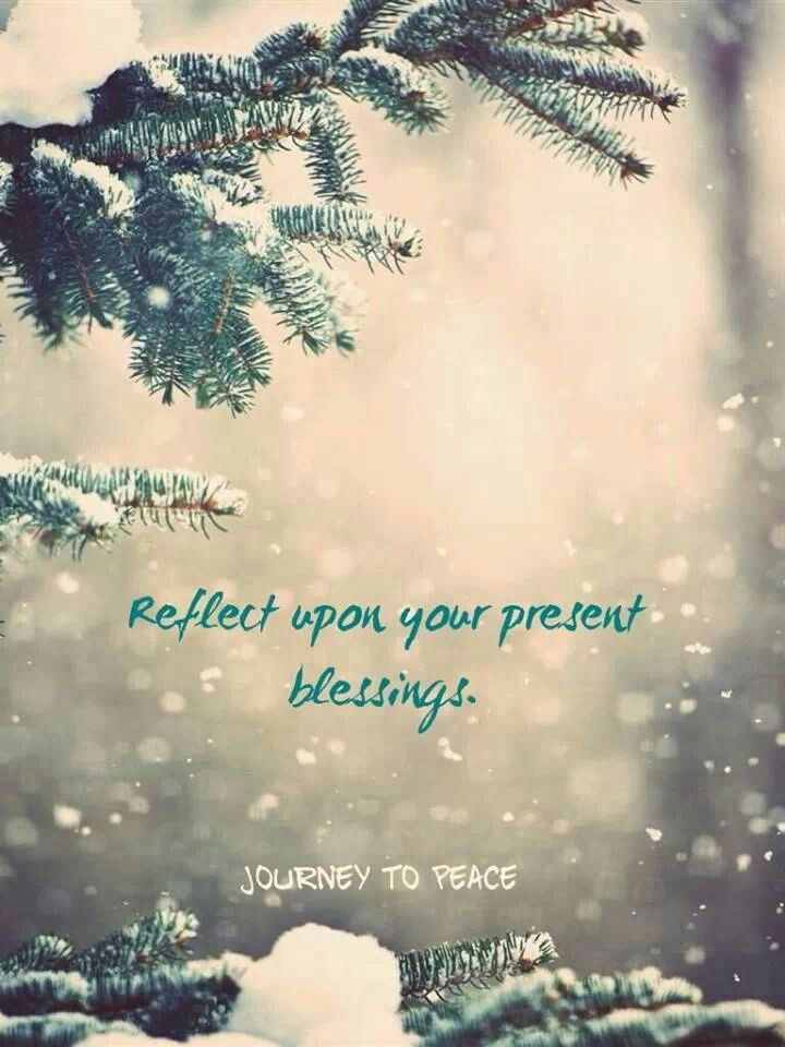 Journey to Peace FB page; reflect upon your present ...