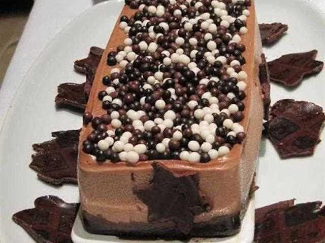 Tarta de chocolate y queso sin azúcar