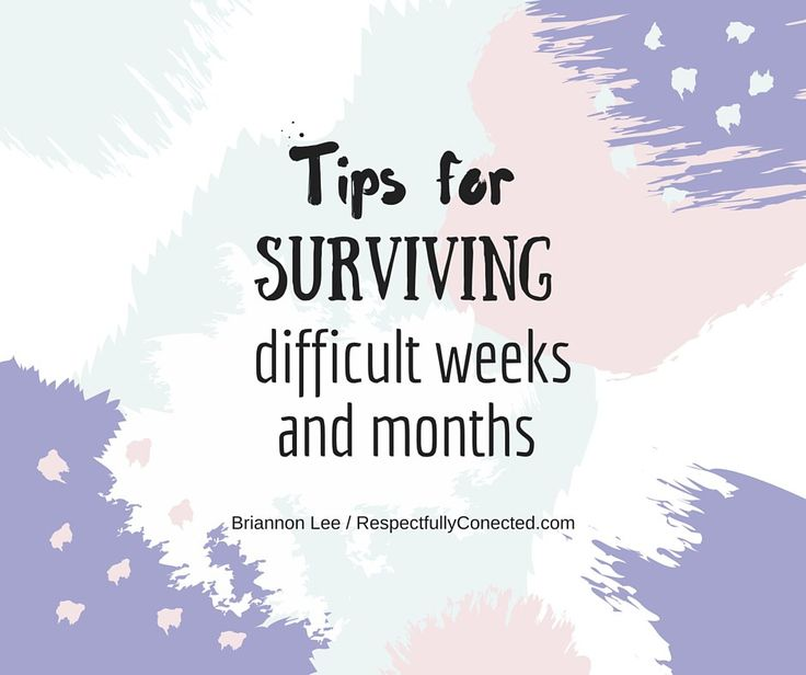 Tips for surviving difficult weeks and months, for parents of autistic kids (including those who may be autistic themselves)
