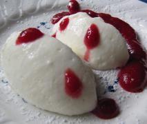 Buttermilch-Zitronenmousse