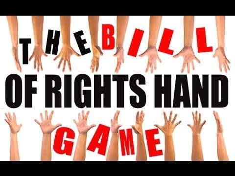 ▶ The Bill of Rights Hand Game: US History Review - YouTube