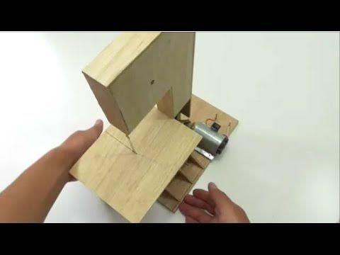 Mini Serra Fita, Caseira -   Homemade Mini Bandsaw - by MFH