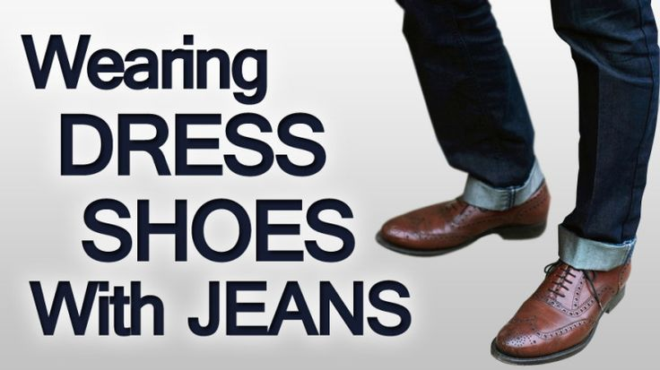 Wearing Dress Shoes With Jeans? This website has a lot of great resources on dressing for different functions.