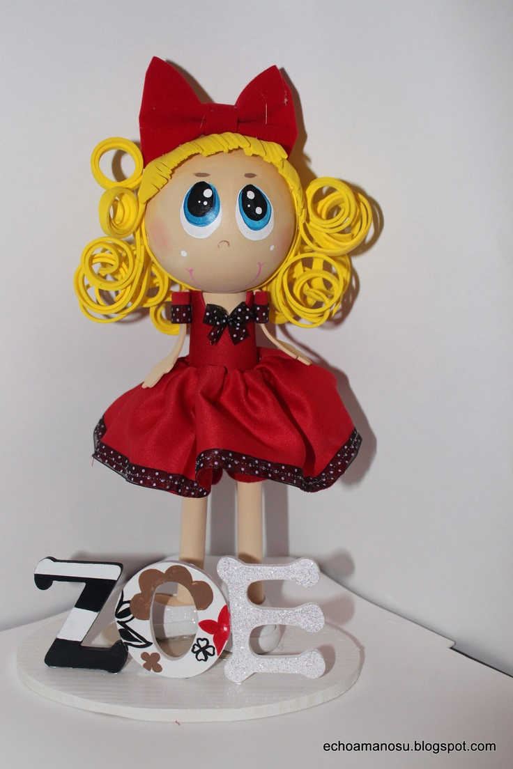 Custom made Doll . Reserved for Jaclyn Guarcello. $35.00, via Etsy.