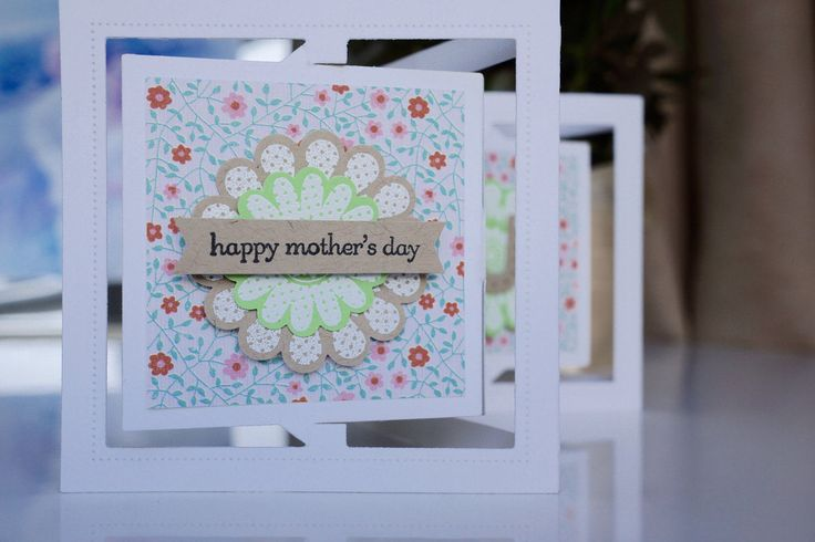 MUM Mother's Day Handmade Card by AnnaChildsDesign on Etsy