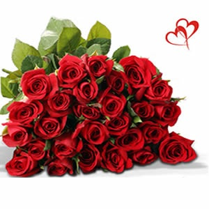 Bunch of red roses only for $330.