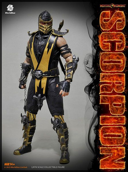 AmiAmi [Character & Hobby Shop] | 1/6 Action Figure - Mortal Kombat: Scorpion(Released)