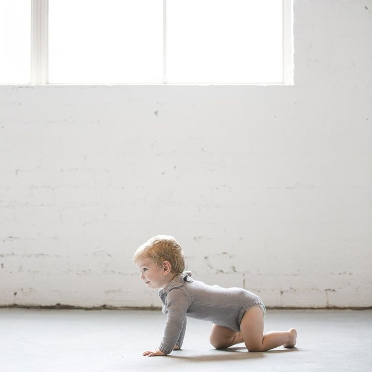 Fleetwood Knit Onesie by Frankie Jones The Label (Autumn/Winter 2016) | knit onesie | knit romper suit | Baby Style | Baby Fashion | Baby Outfit | Boho Baby