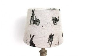 Hare capers lamp shade www.waringsathome.co.uk