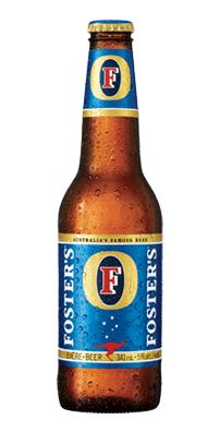 Fosters.  I won't drink it because my dad drinks it, but when I have quenched a summer thirst it tasted like drinking kangaroo spit after it got a beating from Russell Crowe.  Pairs well with hugging a Koala bear while speed dating at a cougar convention.