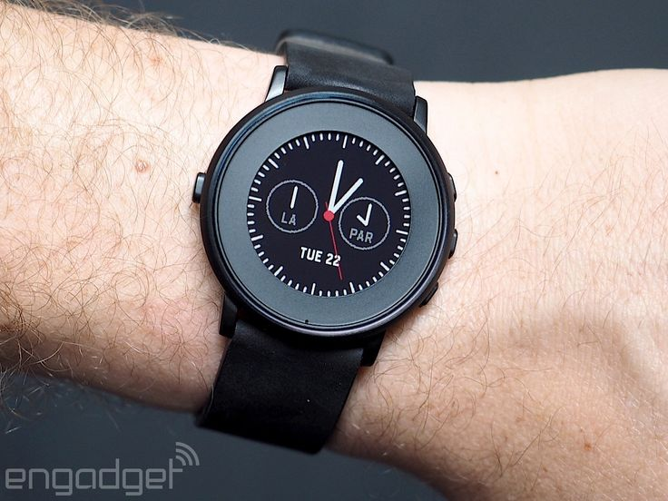 Pebble's Time Round smartwatch sacrifices battery life for style
