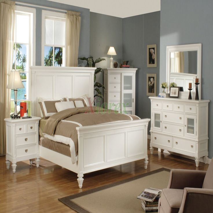 White Bedroom Furniture Sets - Bedroom Inspiration Ideas Check more at http://maliceauxmerveilles.com/white-bedroom-furniture-sets/