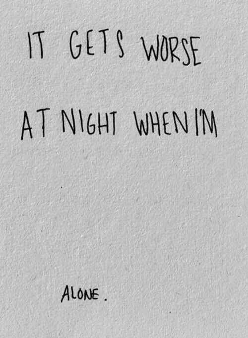 Especially tonight. Why does everyone I love leave me? Why me... ~Alexis