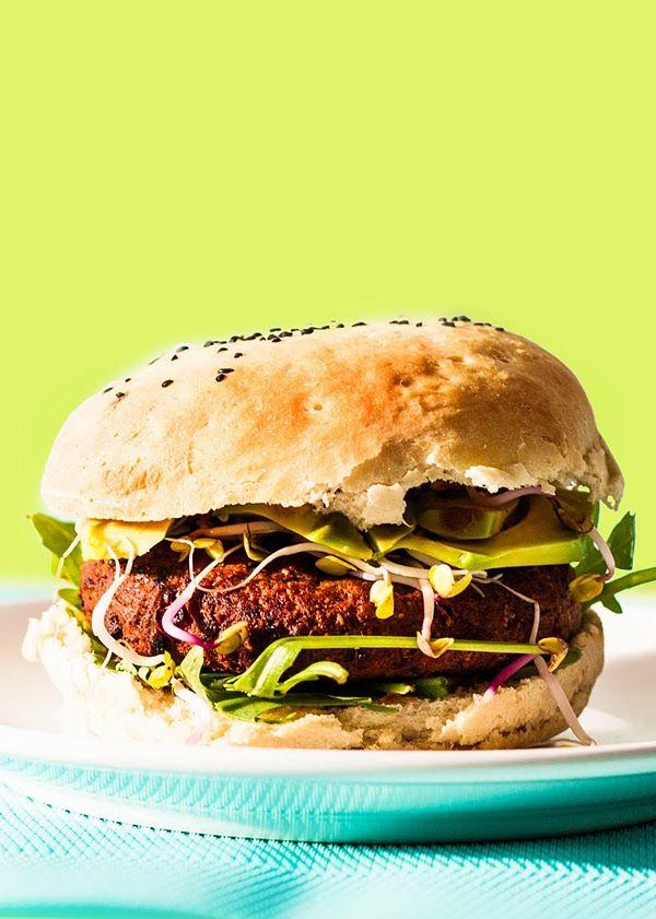 Idealne burgery z czerwonej fasoli