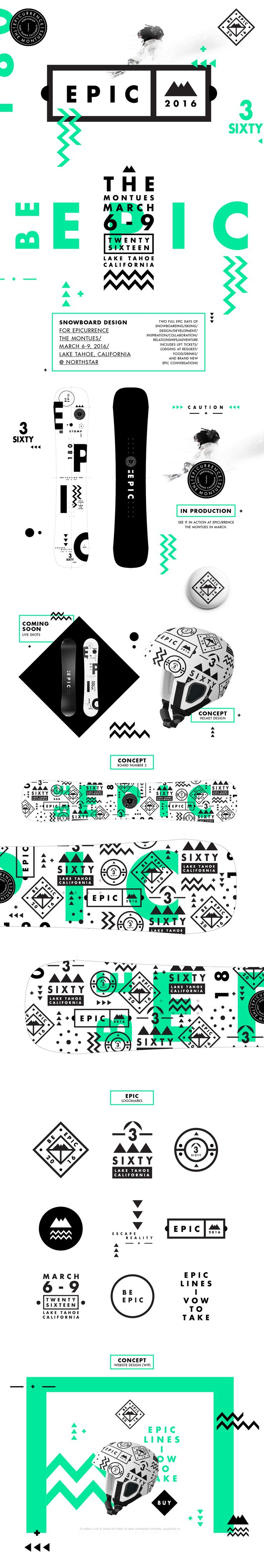 BE EPIC. on Behance
