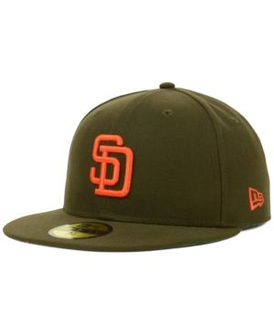New Era San Diego Padres Mlb Cooperstown 59FIFTY Cap - Brown