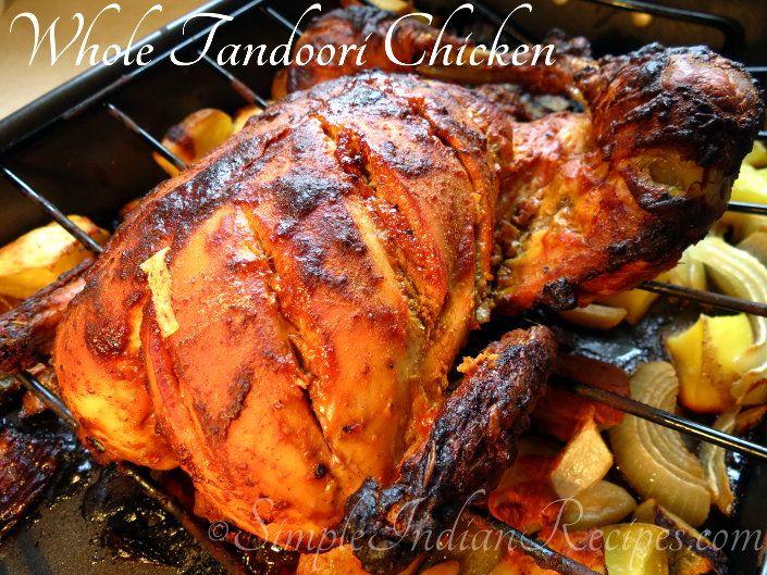 Tandoori Chicken: Simple recipe for making tandoori chicken at home. Try the recipe @ http://simpleindianrecipes.com/Home/Tandoori-Chicken-Baked.aspx