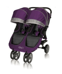 View details of Baby Jogger City Mini Double Pushchair - Purple