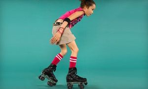 Groupon - Roller-Skating for Two or Four with Snacks at All American Skating Center (Up to 55% Off)  in Lilburn. Groupon deal price: $14