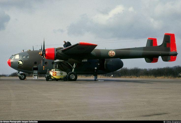 Portuguese Air Force Nord N-2501D Noratlas