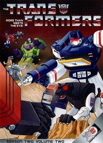 Transformers: Season 2, Vol. 2 [4 Discs] [DVD]