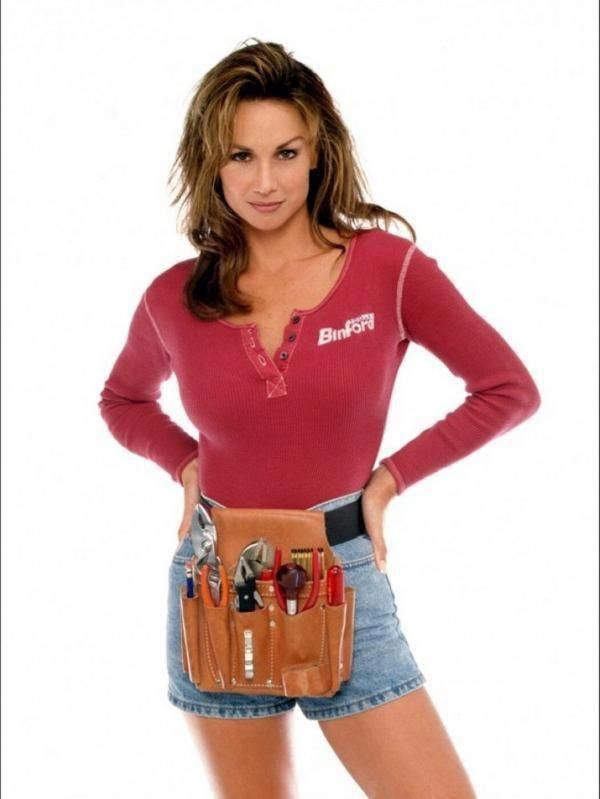 Heidi, the lovely assistant from Tool Time on Home Improvement ...