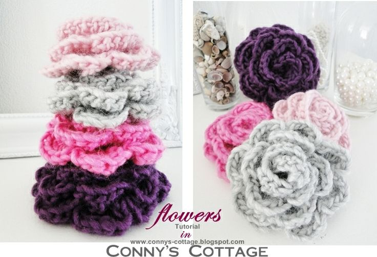 Connys Cottage: Tutorial for crochetflowers    maybe for the shoes
