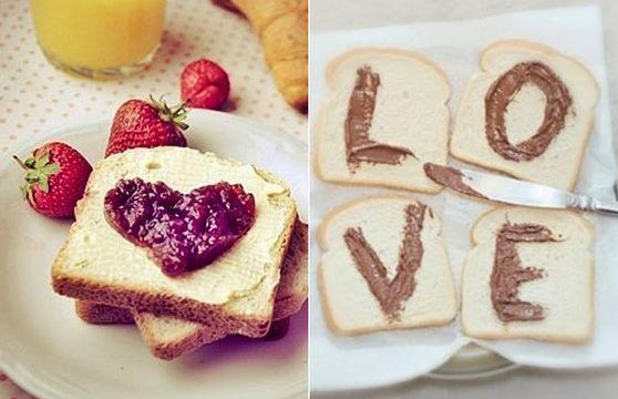 Tem coisa mais romântica que café da manhã na cama? Confira essas ideias criativas!