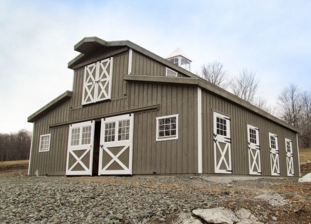 Monitor Barn Pretty Color Barn Homes Pinterest Barn