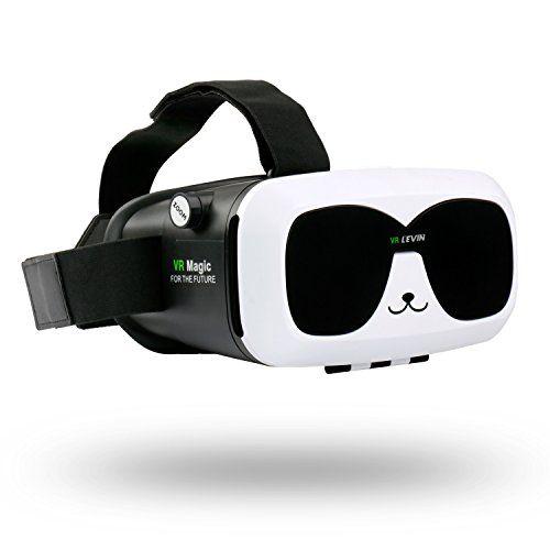 Levin 3D Gafas Realidad Virtual Caja,VR (Realidad Virtual) Box con Graduable Lente y Correa,3D VR (Realidad Virtual) - https://realidadvirtual360vr.com/producto/levin-3d-gafas-realidad-virtual-caja-vr-box-con-ajustable-lente-y-correa-3d-vr-gafas-para-smartphone-head-mounted-cartn-de-video-3d-pelculas-panda/ #RealidadVirtual #VirtualReaity #VR #360 #RealidadVirtualInmersiva