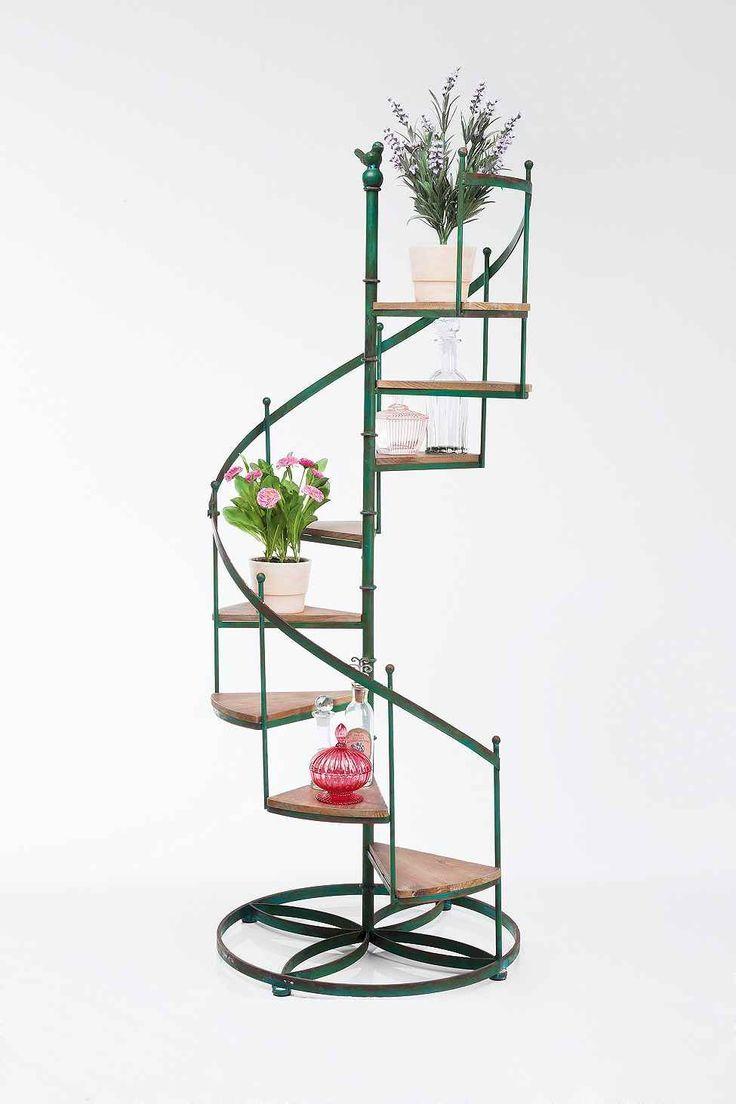 1000 id es sur le th me supports pour plantes sur pinterest int rieur jard - Forme escalier interieur ...