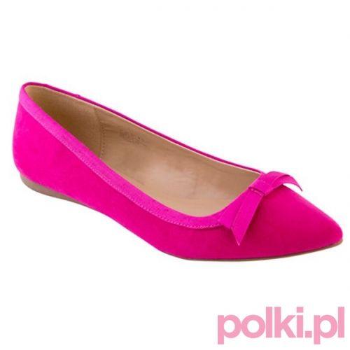 Różowe baleriny F&F #polkipl