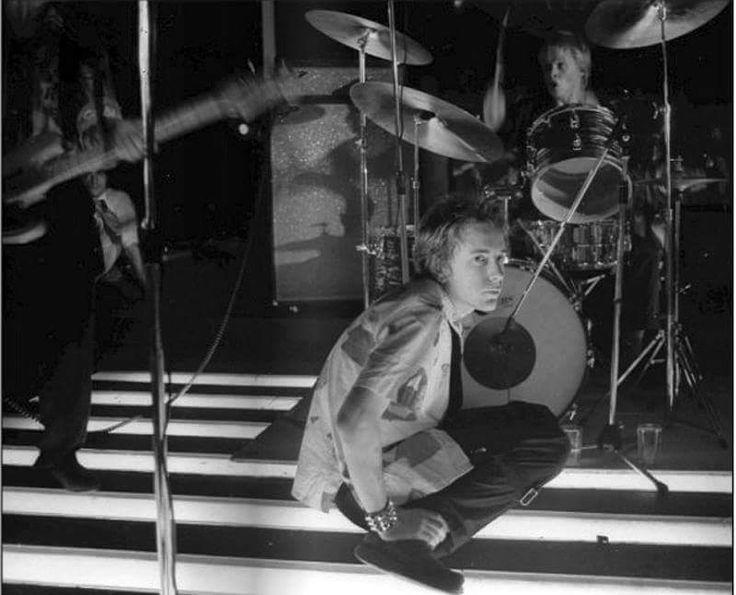 Sex Pistols Photo Archive.  5th September 1976 - Club De Chalet Du Lac, Orée du bois de Vincennes, 75012 Paris, France. Photo © Michel Esteban