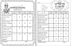 Sarah's First Grade Snippets: Kindergarten Writing Rubrics