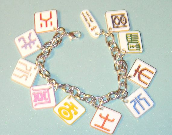 Digimon Frontier Charm Bracelet on Etsy, $19.77 AUD