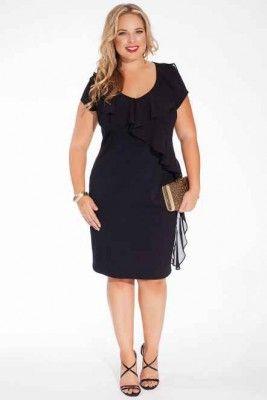 Mangolino Dress - MANGOLİNO DRESS MD7898 Büyük Beden Abiye 42-60